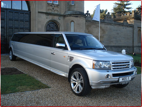 Prom Limo Hire - Range Rover Sport Limo